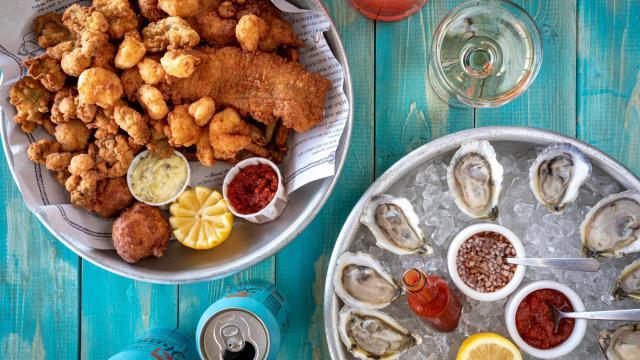 Jimmy's Dockside at Saint James Seafood menu (Forrest Mason Media)