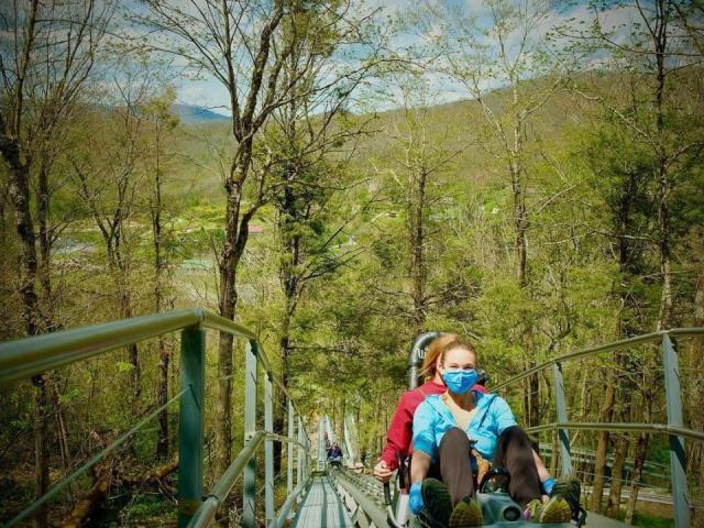 Credit: Wilderness Run Alpine Coaster in Banner Elk