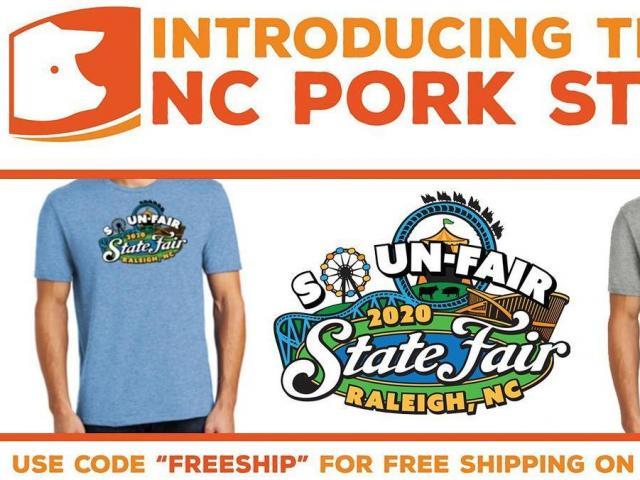 """The 2020 """"So Un-Fair"""" N.C. State Fair T-shirt"""
