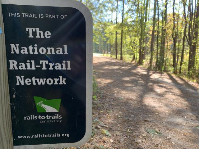 The American Tobacco Trail is part of the national Rail-to-Trail network. <br/>Web Editor: Sydney Franklin