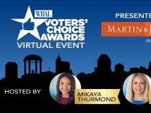 WRAL Voters' Choice Awards virtual event