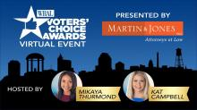 IMAGES: Watch the WRAL Voters' Choice Awards event Thursday night