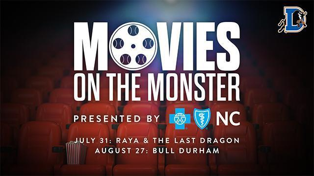 Movies on the Monster presented by Blue Cross Blue Shield