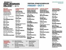 2021 IBMA Bluegrass Live! festival guide preview