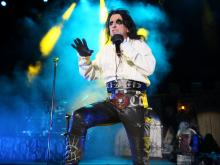 Alice Cooper performs at Red Hat Amphitheater in Raleigh