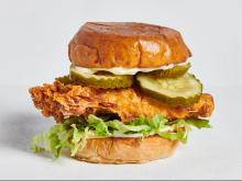 BB's Crispy Chicken - Classic sandwich