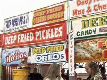 Fried options abound for fair eaters