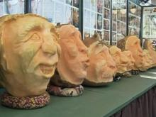 Pumpkin carver is a State Fair attraction