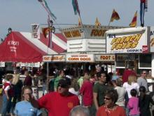 Three vendors are anchors at State Fair