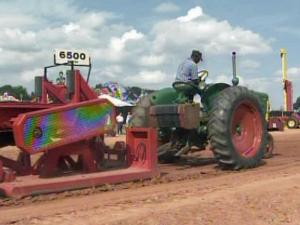 The tractor pull was a popular event at the N.C. State Fairgrounds Saturday.