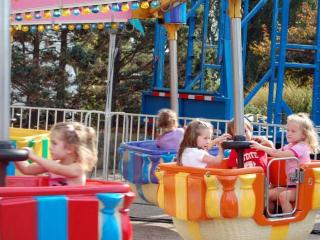 Lots of families visited the N.C. State Fair on Oct. 18, 2010.