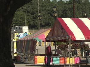 Crews and vendors were setting up tents and booths at the state fairgrounds in Raleigh Monday, 10 days ahead of the 2011 North Carolina State Fair, and organizers say there's plenty of new food, fun and savings to look forward to this year.
