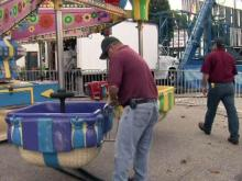 Inspectors ensure fair rides work properly