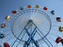 Sky Diver is an old State Fair favorite that has been updated for this year.