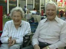 Couple celebrates 64 years at the Fair