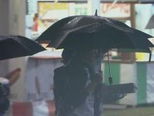 Rain at the fair