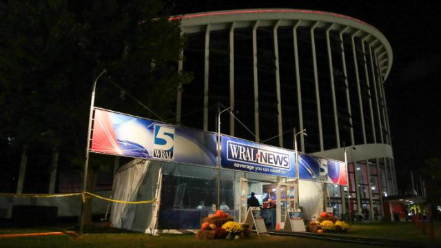 WRAL tent