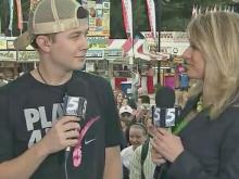Debra Morgan interviews Scotty McCreery