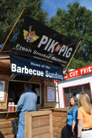 The Pik-n-Pig stand at the N.C. State Fair.