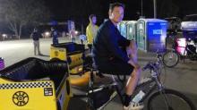 Mitchell Adams of Crank Arm Rickshaw