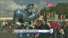 IMAGE: 'Rocket the Robot,' Brian Shrader take dance break