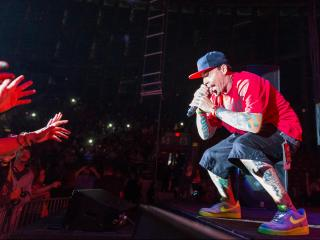 Vanilla Ice at NC State Fair