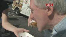 'It's fantastic:' Mason sample peanut-butter pickle