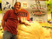 Seeds, luck key to State Fair's prize-winning pumpkin