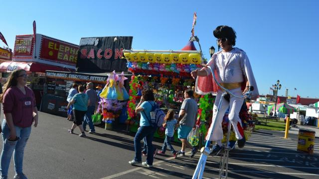 A look at the opening afternoon of the N.C. State Fair on Oct. 15, 2015.
