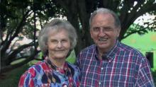IMAGE: Sixty years after meeting, couple returns to State Fair