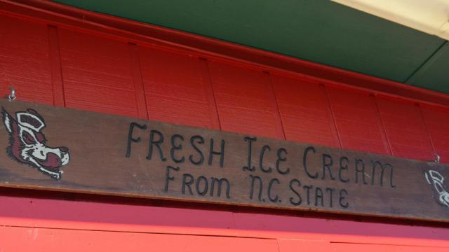 Howling Cow ice cream at N.C. State Fair.