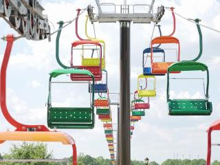 The State Fair Flyer is a permanent attraction and, at 40 feet high, will be a new way for people to see the fair.