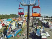Fair opens with new sky ride view