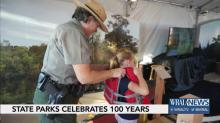 IMAGES: State Parks system highlights 100th birthday with State Fair exhibit