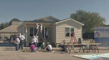 Habitat for Humanity builds house at State Fair