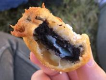Fried Oreo at the NC State Fair