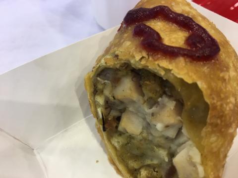 State Fair Taste Test Thanksgiving Eggroll Wral Com