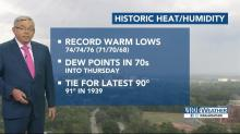 October heat 'blows records out of the water'