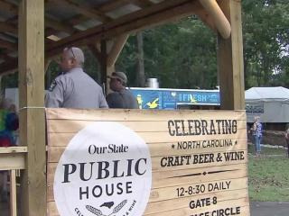 For first time, NC State Fair visitors enjoy beer, wine