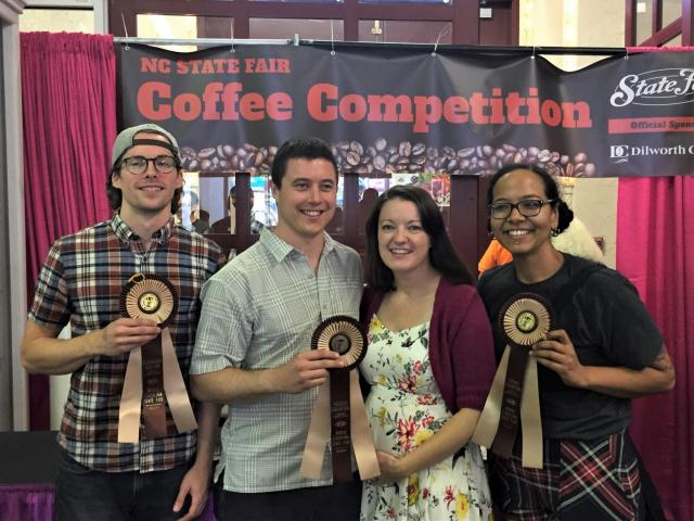 Coffee Roasters Battle At N C State Fair Wral Com