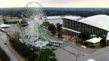 IMAGES: Giant Ferris wheel, new food ahead at State Fair