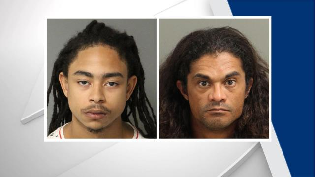 D'mani Lee Jeter (left) and David William Parker (right) were arrested during the first week of the North Carolina State Fair.