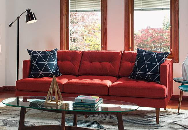 """Flipping couch cushions is one of the easiest ways for people to """"clean"""" their sofas."""