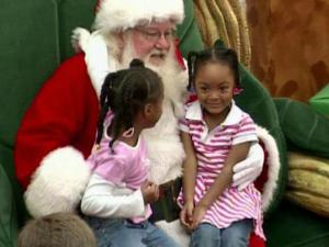 Children got in last-minute gift requests while their parents shopped Friday at Triangle Town Center in Raleigh.