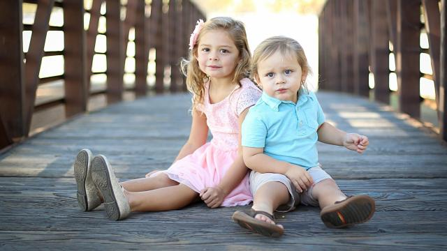 Mckenzie and Zane Marquez gave their mother a scare when they consumed a bottle of gummy vitamins last year. (Deseret Photo)