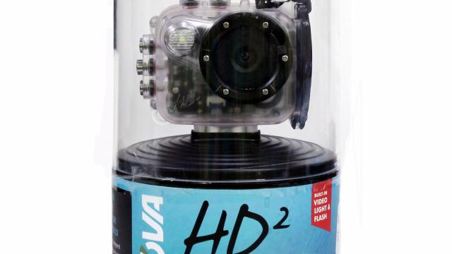 The HD2 action camera can definitely hold its own in the water. (Deseret Photo)