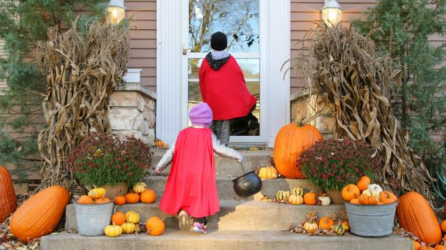 After 11 years of holding the top spot in the National Retail Federation's Halloween consumer survey, princesses have dropped to No. 2 of children's costume choices, second to superheroes. (Deseret Photo)