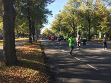 Mile 20 of the Amsterdam Marathon course. (Deseret Photo)