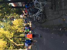 Mile 20 of the Amsterdam Marathon. (Deseret Photo)