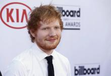 Ed Sheeran arrives at the Billboard Music Awards at the MGM Grand Garden Arena in Las Vegas. (Deseret Photo)